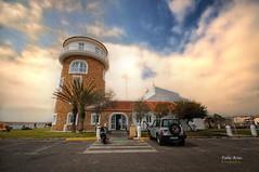 (345/16) Torre del Control del Puerto Deportivo de Almerimar (Pablo Arias) Tags: pabloarias photoshop nxd cielo nubes texturas arquitectura torre puertodeportivo almerimarelejido almera comunidaddeandaluca