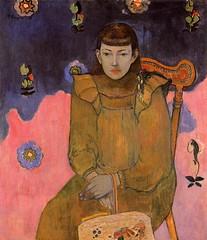 Portrait Of A Young Woman Vaite (Jeanne) Goupil - Paul Gauguin , 1896 (jbuddenh) Tags: portrait art painting paulgauguin 1896