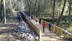 Thursday Hike - Lake Johnson - Raleigh, North Carolina (John Meckley) Tags: thursday hike northcarolina raleigh bridge boardwalk