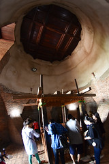 Ayutthaya - inside the Chedi (scuba_dooba) Tags: nakhon อยุธยา phra park si พระนครศรีอยุธยา phranakhonsiayutthaya ayutthaya historical edited stupa chedi thailand ราชอาณาจักรไทย ประเทศไทย siam สยาม