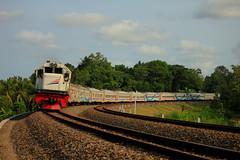 GAJAH WONG (Ikhsan Prabowo Hadi) Tags: train rail railways railfans railroad railway railfan gajah wong keretaapi indonesia yogyakarta kalimenur kulonprogo kulon progo