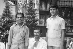 Indian shopkeepers (np485) Tags: laos vientiane people peagam indian shopkeepers shop store