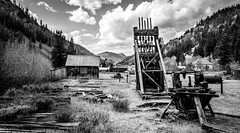 Custer Idaho, old mining ghost town (malberts78) Tags: forest national boise wilderness nature idaho tranquil clouds northwest pacific awe scenic amazing beautiful beauty outdoor water watercourse serene landscape sky skyline oregon river cloud nikon d7100 sigma 1750 custer old mining town cabin equipment