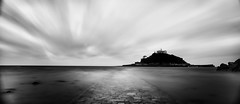 Self Control (Dr. RawheaD) Tags: sony a7r england uk cornwall stmichaelsmount ocean sea long exposure canon tse 24