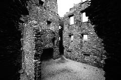 Ruins (akibamir9) Tags: scotland uk travel kilchurncastle castle ruins history argyll blackandwhite