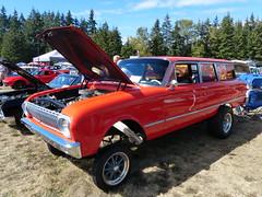 1963 Ford Falcon (bballchico) Tags: 1963 ford falcon stationwagon dragcar dragstrip racecar gasser richardbailey arlingtondragstripreunionandcarshow carshow 60s 206 washingtonstate arlingtonwashington