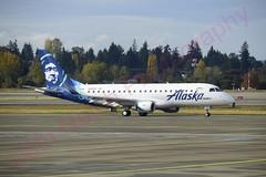 _DSC0770_wm (8thNotchPhotography) Tags: alaskaairlines alaskaskywest e175 embraer