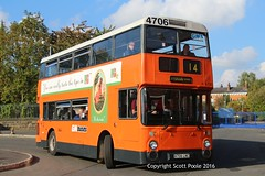 Manchester Muesum of transport 'The Big Orange at 30' Manchester Deregulation (6228 Leeds) Tags: gmpte gmbuses south 4706 a706lnc leyland atlantean an68 northern counties boyle street turning circle saturday october 15th 2016