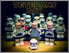 VD (LegoKlyph) Tags: lego custom starwars star wars troopers 501st clones veterans jedi sith stormetrooper bricks minifigure