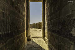 A door through the time (Giucorso) Tags: multipleexposures temple egypt canon manfrotto