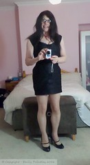 October 2016 (emilyproudley) Tags: crossdresser cd tv tvchix tranny trans transvestite transsexual tgirl tgirls convincing dress feminine girly cute pretty sexy transgender xdresser highheels gurl hosiery tights glasses