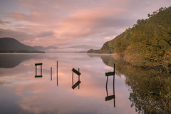 Ullswater Calm (.Brian Kerr Photography.) Tags: appicoftheweek cumbria lakedistrict landscapephotography lakes reflections sunrise jetty sonyuk a7rii outdoorphotography autumn earlymorning calm stillness calmness beautifulmorning