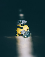 Please head over to my instagram to see images like this i create everyday (ZEDX95) Tags: walle action figure cartoon character cute sad sunlight direct harsh natural contrast tones