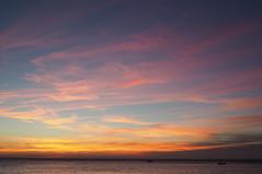 Piran (imposter81) Tags: piran sea boat sunset colors clouds sky waves slovenia olympus em10