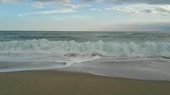 Autumn Sea ~ (Maria Cristina Talarico) Tags: mariacristinatalarico sea calabria sunshine autumn sand sky blue coldwater saltysea