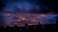 L1200991 (Bruno Meyer Photography) Tags: leith edinburgh scotland visitscotland night sundown building clouds colours purple leica leicaimages leicacamera leicam240 35mm summarit windows photography raw edit light travel friends