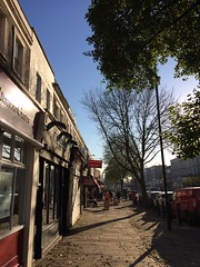 Caledonian Road (My photos live here) Tags: london camden caledonian shops trees pavement road capital city england i phone 5s autumn