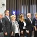 A mágocsi képviselőtestület tagjai: Bogyainé Gál Tünde, Spanbergerné Laczkó Ivetta, Márkus Tamás, dr. Hargitai János, a Kereszténydemokrata Néppárt ügyvezető alelnöke és Hőnig Mária polgármester
