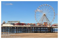 All rights reserved Collette Rawlinson (Collette Rawlinson) Tags: blackpool tower day out october 2016 seaside sea sky blue happiness front prom walk fairground fun fair arcade amusement race horse penny push prize wheel pier under boardwalk