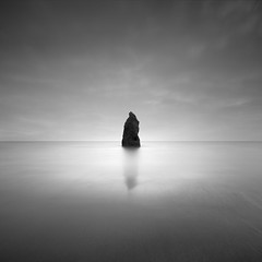 Spirit (Rohan Reilly Photography) Tags: copper coast workshops minimal rr signature square long exposure sand monochrome minimalism waterford erosion sea stack