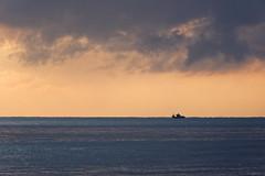 Racing The Storm (blueyshutta) Tags: storm horizon fishing fishingboat silhouette morningstorm sailorswarning kijaljetty terengganu malaysia nikon nikond750 bsp
