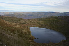 Looking down into the tarn (dark_dave25) Tags: martindale bungalow helvellyn striding edge lake district tarn walking hiking holiday 2016 october