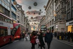Christmas Shopping (Photo Lab by Ross Farnham) Tags: christmas shopping london oxford street west end lights sony a7rii 1635mm f4