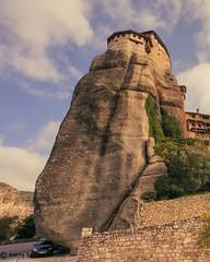 #47 - Smart (Keeperofthezoo) Tags: 116picturesin2016 greece meteora monastery car smart tourism travel