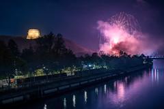 [299] Fireworks (waterman75) Tags: feuerwerk bayern bavaria fireworks night nacht nachtaufnahme germany deutschland kelheim altmhl altmhltal fluss kanal river befreiungshalle hallofliberation