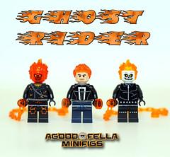 Ghost Rider v.2 (agoodfella minifigs) Tags: lego marvel marvellego legomarvel minifigures marvelcomics comics heroes marvelheroes legosuperheroes legomarvelsuperheroes legoavengers minifigure mcu ghostrider robbiereyes johnblaze
