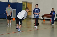 TRC 113016 007 (Tolland Recreation) Tags: boys girls kids children youth tweens sports dodgeball recreation fitness exercise game contest competition balls throwing tolland connecticut