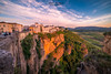 Ronda (Chiara Salvadori) Tags: travelphotography andalusia architecture bridge colors culture europe landscape malaga nature outdoors premiun rocks ronda scenery spain spring sundown sunset travel traveling village