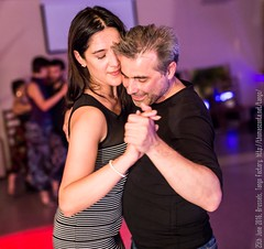 Silvia and Luis, Tango Factory, Brussels, June 2016