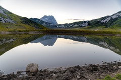 His majesty the Gran Sasso (Mario Ottaviani Photography) Tags: sony sonyalpha italy italia paesaggio landscape travel adventure nature scenic exploration view vista breathtaking tranquil tranquility serene serenity calm gransasso mountain appennini abruzzo campoimperatore