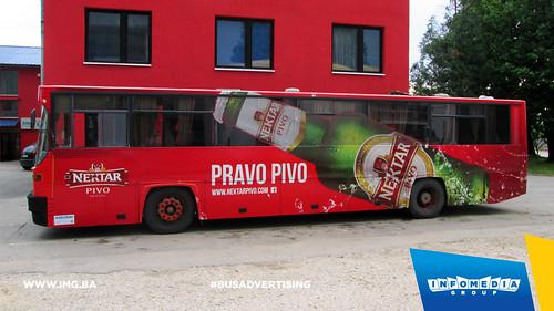 Info Media Group - Nektar pivo, BUS Outdoor Advertising, Banja Luka, Doboj 07-2015 (5)