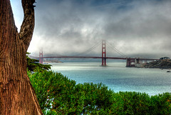TG 15 08 11 006 (pugpop) Tags: sanfrancisco california vacation fog pacificocean goldengatebridge landsend shore hdr marinelayer 2015 lincolnhwy