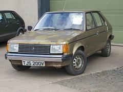 1980 Talbot Horizon 1.3 GLS (GoldScotland71) Tags: tjs200v