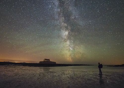 'Stargazing' - Porth Cwyfan, Anglesey