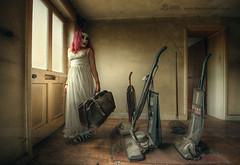 Farewell my little ones, don't cry... (Sshhhh...) Tags: vintage domestic abandonedhouse hoover unusual dust cleaner household vacuumcleaner uninvited nightdress unloved sshhh derelictbuilding derelicthouse sshhhh