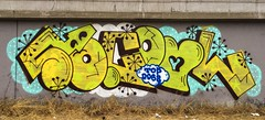 SoCool by Weast (gh0st7s) Tags: graffiti oakland bayarea socool topdog vrs weast topdogs oaklandgraffiti bayareagraffiti vrscrew