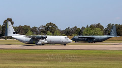 A97-440 + A97-450 RAAF C130J's WM-0157 (Matty 8o) Tags: new wales plane canon airplane photo airport outdoor aircraft air south transport sydney australia quad richmond photograph transportation airline nsw planes airways airlines lockheed base raaf hercules airliner turboprop c130 planespotting planespotter 55250 planephotography ysri 700d 55250mm a97440 a97450
