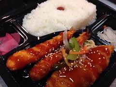 南蛮ソース海老白身フライ弁当 (250円弁当ちょ~だがや) Tags: bentou