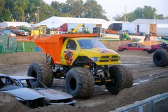 Monster Truck Show at the Walworth County Fair (Cragin Spring) Tags: show summer usa wisconsin truck big midwest unitedstates mud 4x4 unitedstatesofamerica fair tires dodge countyfair wi monstertruck elkhorn monstertruckshow walworthcountyfair elkhornwi walworthcounty elkhornwisconsin