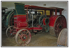 Agriculture - History - International Harvester Traction Engine. (Bill E2011) Tags: usa history america canon mechanical farming international land agriculture harvester invention harvesting