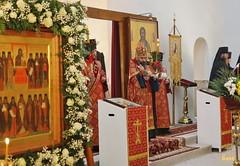 006. Patron Saints Day at the Cathedral of Svyatogorsk / Престольный праздник в соборе Святогорска