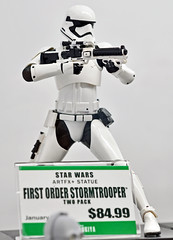 Star Wars First Order Storm Trooper Figure 3 NYCC 2015 (Mike Rogers Pix) Tags: new york anime star comic cosplay brothers blues harley quinn stormtrooper wars godfather comicon con nycc