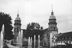 Stadtkirche Freudenstadt (RGaenssler) Tags: deutschland europa schwarzwald eos3 ilfordpanf badenwrttemberg stadtkirche freudenstadt