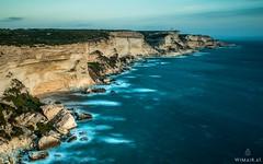 Bonifacio / Lighthouse (Wim Air) Tags: ocean sea cliff lighthouse seascape france rock landscape corse corsica cliffs coastline bernhard bonifacio wimmer korsika wimairat sonya7s