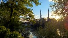 Hamza Bey Mosque - autumn
