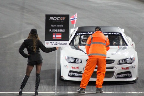 Petter Solberg in The Race of Champions, Olympic Stadium, London, November 2015